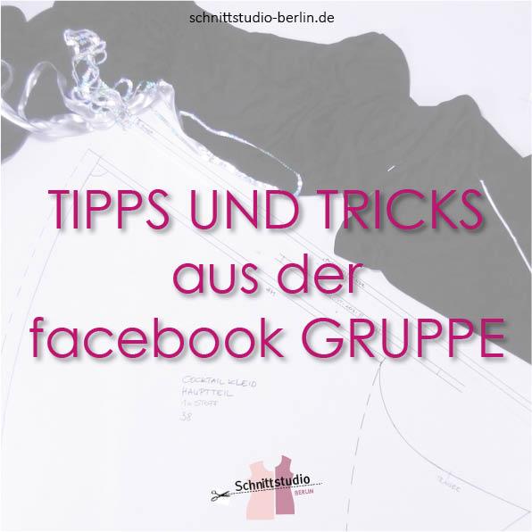 Tipps und Tricks aus der Facebookgruppe